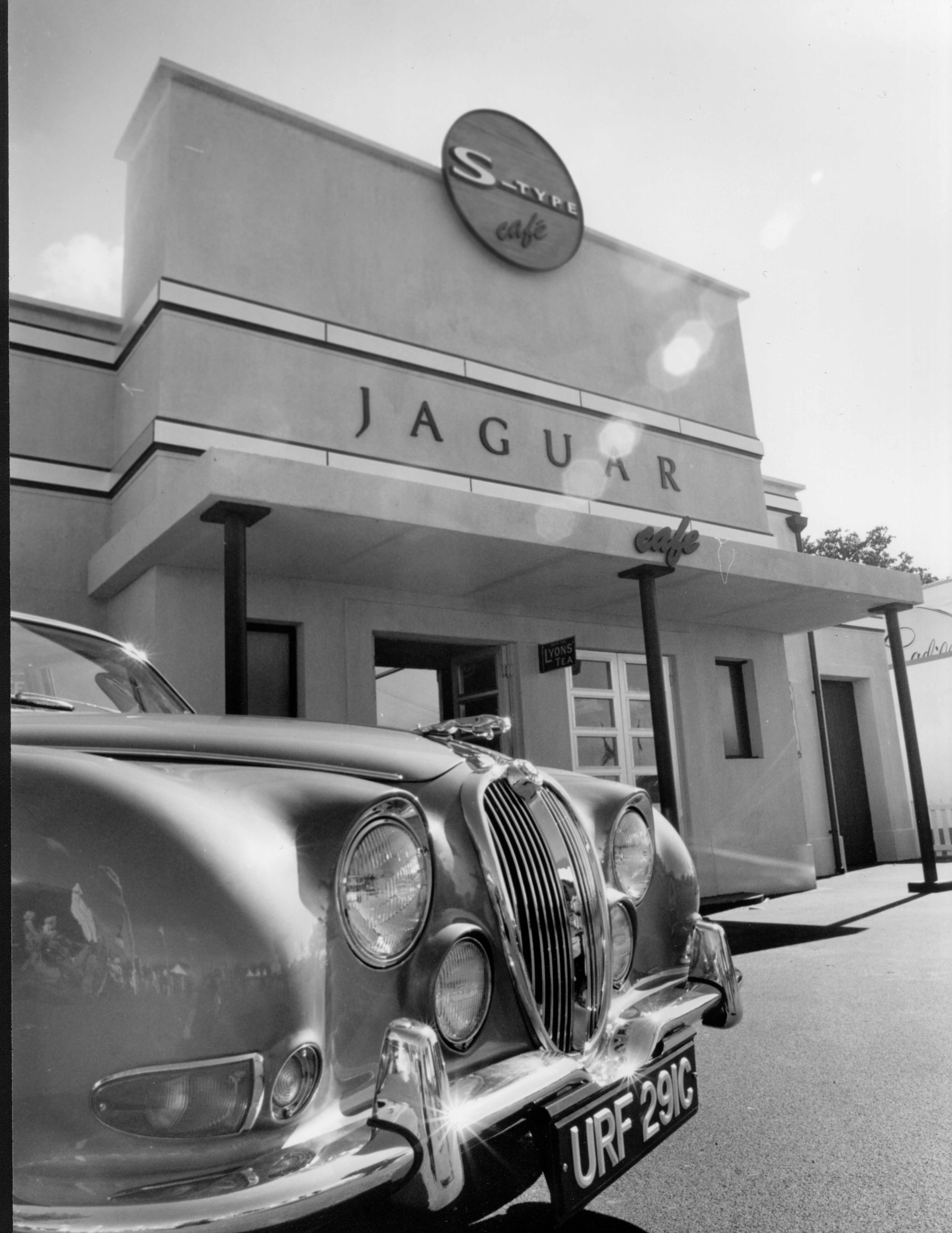 Jaguar Cafe-Black & White 2 copy